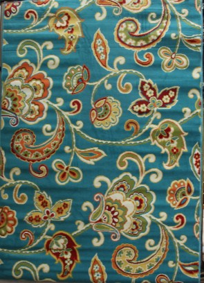 Al Fresco Paisley Turquoise