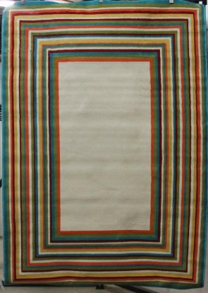 Al Fresco Stripe Border Multi