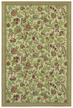 Woven Expressions English Floral Ivory