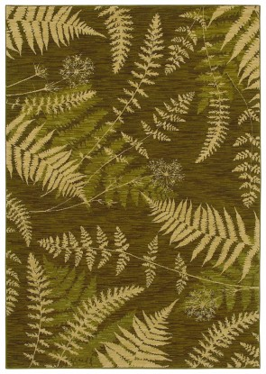 Bob Timberlake Forest Ferns Dark Green