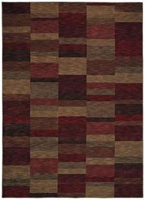Modern Works Parallel Cranberry