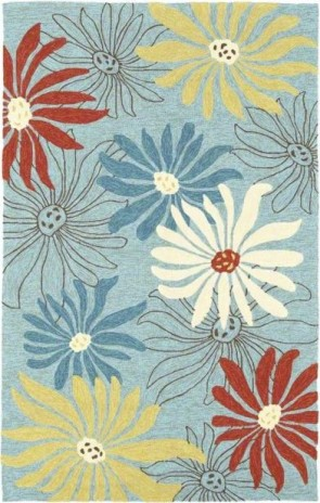World Market Garden Craft Summer Edge Blue