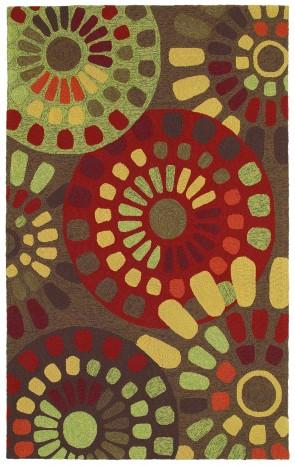 World Market Garden Craft Sun Mosaic Brown