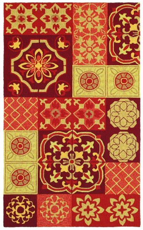 World Market Garden Craft Tile Of Paradise Multi