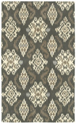 World Market Indonesia Ikat Medallion Brown